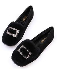 GAOLIM Soja Zapatos Zapatos De Mujer De Fondo Plano Hembra Embarazada De Otoño E Invierno Zapatos Zapatos De Mujer...