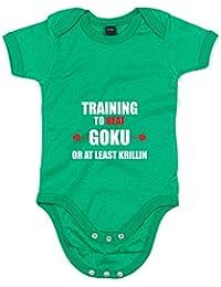 Training To Beat At Least Krillin, Imprimé bébé grandir