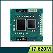 Laptop Processors Intel Core I7 620M 2.66GHz 4M Socket G1 Laptop Processor CPU (Color : A)