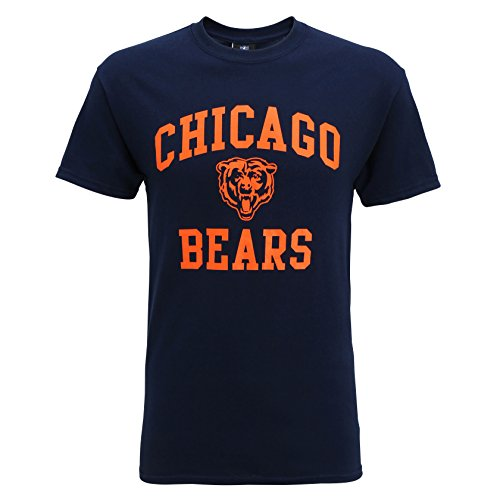 American Sports Merch Chicago Bears Large Graphic T Shirt Navy