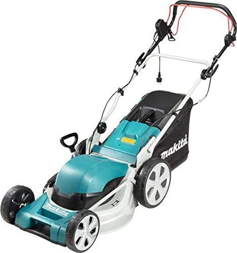 Makita Elektro-Rasenmäher ELM4621, blau/schwarz, 1.800 Watt, Radantrieb