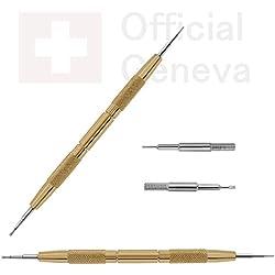 Federstegbesteck OFFICIAL GENEVA 1.1 VIP für den Armbandwechsel