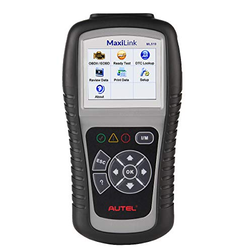 Autel MaxiLink ML519 OBD2 Outil d'analyse diagnostique de Voiture, Mode amélioré 6 d'OBD II de Lecteur de Code