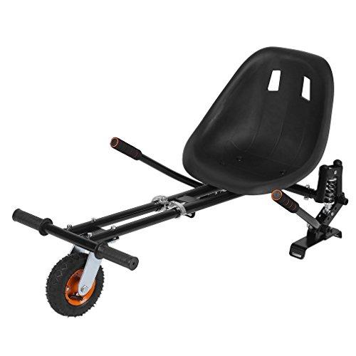 """Blackpoolal Aufsatz für Hoverboard Stoßdämpfend Sitzscooter Hoverkart für Roller Scooter E-Scooter (6,5\""""/8.0\""""/10\""""), Verstellbar Sitz GoKart Seat Hoverseat Go Cart"""