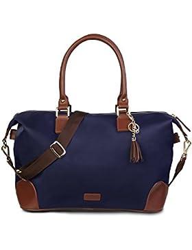 Handtasche shopper tasche Saiveina groß Henkeltaschen Damen wasserdichte schnelltrocknende mit Reißverschluss...