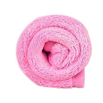 Vennisa 38*58CM Couverture de Chien Chat Tapis Doux Couverture Polaire Pad lit Couette Coussin Rose