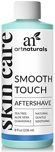 ArtNaturals Eingewachsenes Haar After Shave - (8 Fl Oz / 236ml) - Smooth Touch Rasierwasser - Beugt Rasurbrand und Pickel vor - mit pflegendem Aloe Vera und pflanzlichen Extrakten