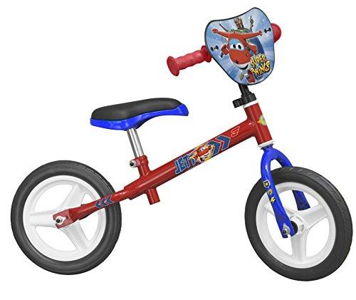 Toimsa–126–bicicletta senza pedali per bambini–10–super wings–di 3anni–rosso–-rosso