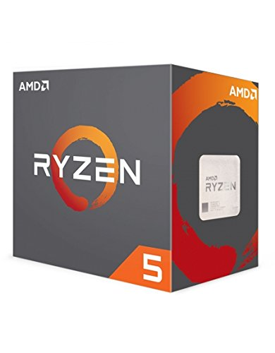 AMD Ryzen 5 1600 x 3.6GHz - Procesador (AMD Ryzen 5, 3,6 GHz, Socket AM4, PC, 1600x, 32-bit, 64 bits)