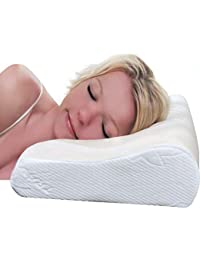 VIAGGI Cervical Memory Foam Sleeping Pillow Spondylosis Neck and Back Pain Relief Support for Senior Citizen Men and Women Orthopedic Problems