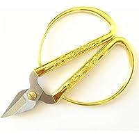 5# Forbici, acciaio inossidabile oro cinese tradizionale Drago e Phoenix Design