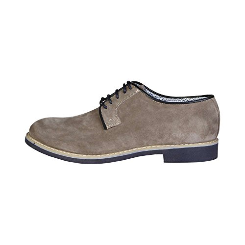 Made In Italia - GIULIANO Derby Chaussures De Ville À Lacets Homme 100% CUIR VÉRITABLE