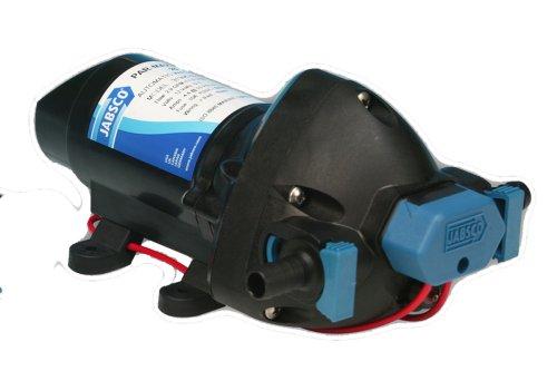 Jabsco betriebenen 31295Serie Marine ParMax 1.9Wasser Druck System Pumpe, 1.9GPM, 25PSI, 31295-0092, Schwarz, Größe: Einheitsgröße -