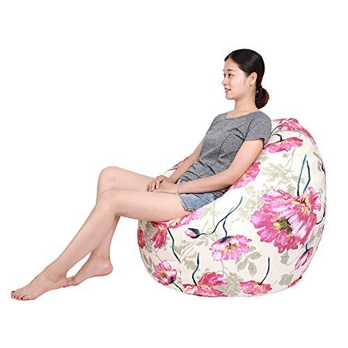 XUE Designer Bean Bag Chair, waschhable Big Size Sofa und Riesenlounger Möbel für Kinder-Teen und Erwachsene Schaumstoff gefüllte Möbel für Dorm Zimmer