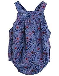 Knot Barboteuse pour bébé avec Fleurs en en Velours côtelé imprimée de la  Marque Portugaise - 57b8434415e