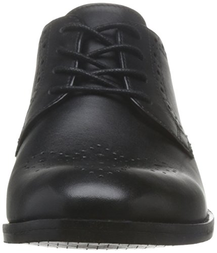 Clarks Damen Netley Rose Brogues Nero