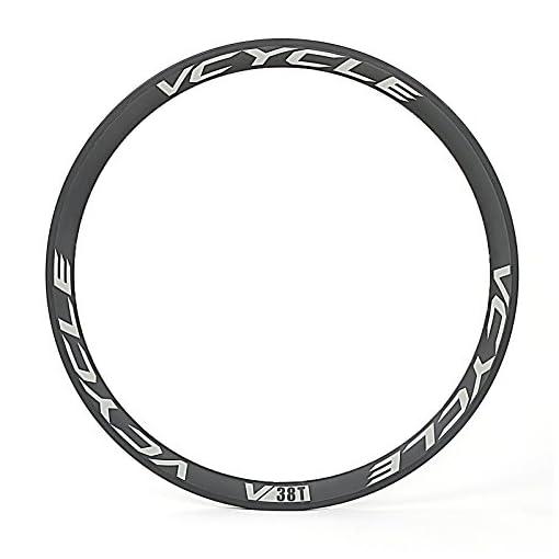 VCYCLE 700C Fibra di Carbonio Coppia Ruote Bici da Corsa