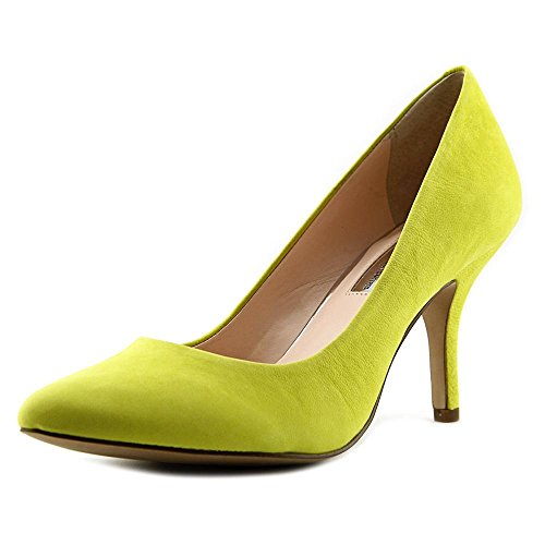 INC International Concepts Zitah Cuir Talons Chartreuse