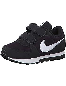 NIKE MD Runner 2 (TDV), Zapatillas de Running Unisex niños