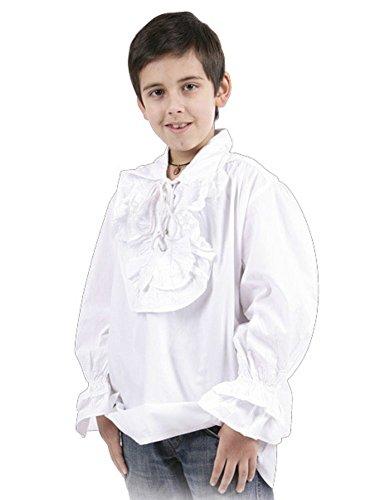 (Bäres Mittelalter Hemden, Tuniken kleiner Recke - Kinder Edles Hemd - Kinder Marinus für 9-11 jährige/schwarz)