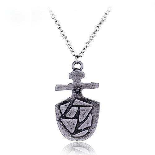 Halsketten für Herren Heißer Schmuck Tardis Key Necklace Doctor Who Halskette Doctor Who Prop Tardis Keys Neckles Für Fans Frauen Männer Geschenk