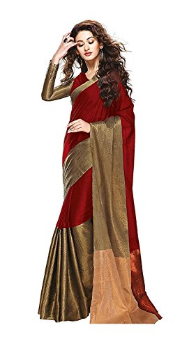 kesar fashion latest designer cotton silk saree