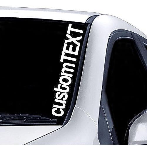 Windscreen Stickers Amazoncouk - Car window stickers amazon uk