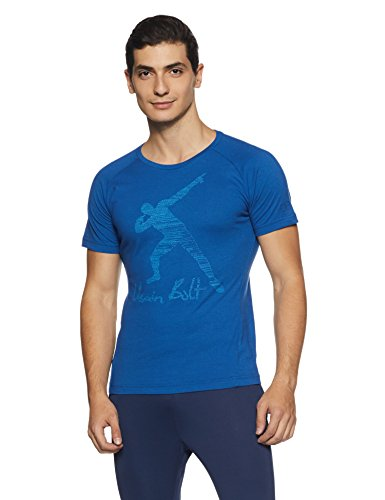 Puma Bolt (Puma Herren UB Legend Tee T-Shirt, True Blue, XL)