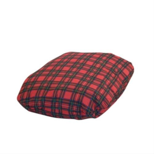 Royal Stewart Tartan Dog Fibre Bed Cover Size: Size 2 (63cm x 86cm)