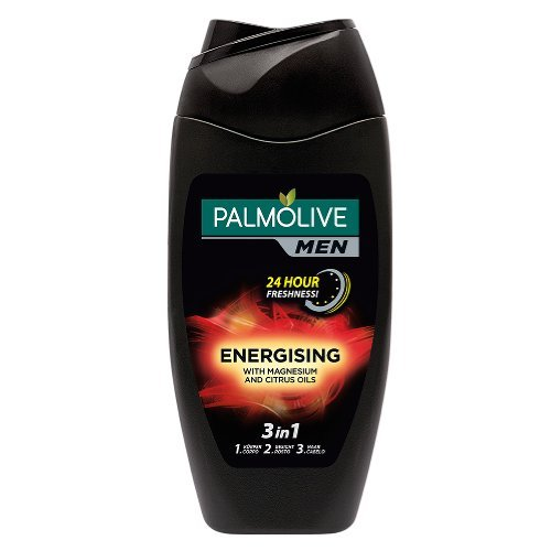 Palmolive Men Bodywash Energising Imported Shower gel, 250ml