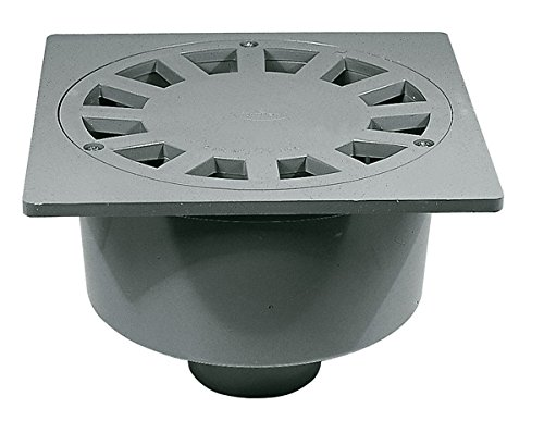 Jimten s-246 – Sumidero sifonico s246 vertical diámetro 90 rejilla pvc