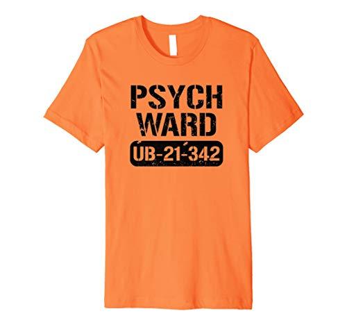 Kostüm Gefangenen Frauen - Halloween-Kostüm Gefangene Inmate Jail Psych Ward T-Shirt