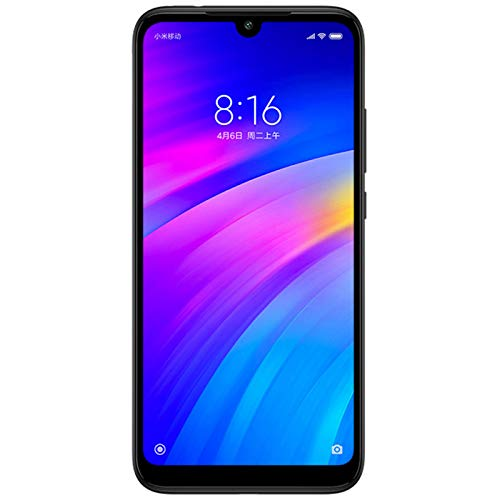 Xiaomi Redmi 7 Mobile 64GB, Noir, Android 9.0 (Tarte), Double SIM