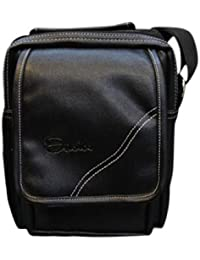 Easies Unisex Small Sling Bag Pouch/Messenger Bag (Black) FMS-783 By Exclusive Fashion Luggage