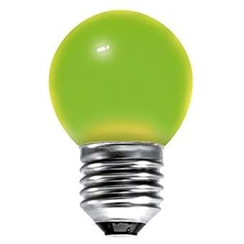 Marque Générique 15w ES - E27 - Culot à vis Edison Vert Lampe Balle de Golf à Incandescent (01515)