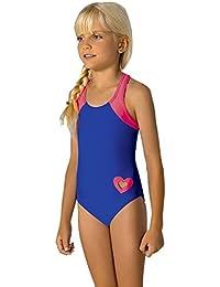 girls kids costume da bagno per bambini costumi da bagno costume da bagno intero beachwear 7 13 anni m58 7 8 anni 134 cm blu