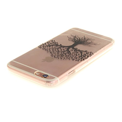 """MOONCASE iPhone 6 / 6S Coque,Etui de Protection Coque Slim Antidérapant Case en TPU Gel Avec Absorption de Chocs pour iPhone 6S / iPhone 6 (4.7 """") TX08 TX29"""