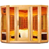 Grupo Contact - Sauna infrarrojos, acristalada 5 lados