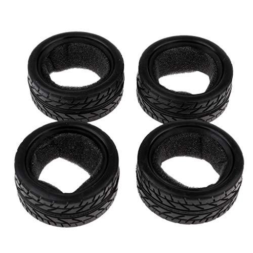 Baoblaze 4 STK. Reifen-Set, Gummireifen ohne Felgen für 1/10 Redcat HSP HPI RC Auto
