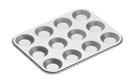 Kitchencraft Flache Backform mit 12 Mulden - Non-stick Lasagne Pan