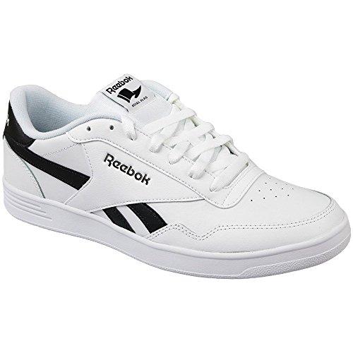 Reebok Royal Techque T, Chaussures de sport homme Blanc (blanc / noir)