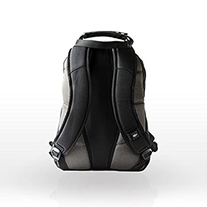 "41RxMUvoOfL. SS416  - Wenger 600625 Nanobyte - Mochila con Forro Anti-arañazos (13.3"") Color Negro y Gris"