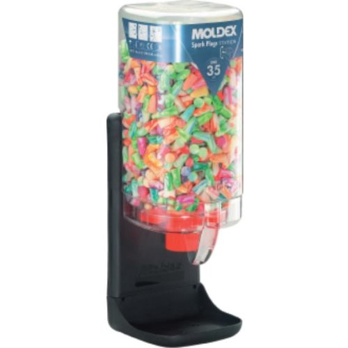 MOLDEX Gehörschutzstöpsel Spark Plugs Spenderbox á 500 Paar - SNR Wert 35dB
