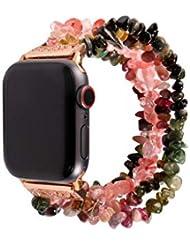 Maayun Para Apple Watch 4 3 2 1Watch Band Beads Bracelet Jewelry Strap Strap 38 40 42 44 MM (42-44-B)