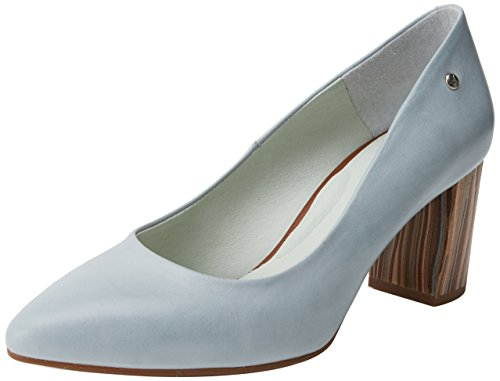 Pikolinos Salamanca W1s, Chaussures Femme À Talon Bleu (aqua)
