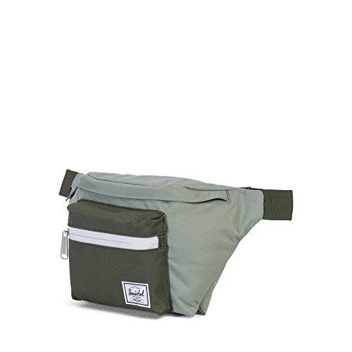 Herschel Supply Company Siebzehn Sport Taille Pack, 18, schwarz (schwarz) - 10017-00001-OS grün / oliv / weiß