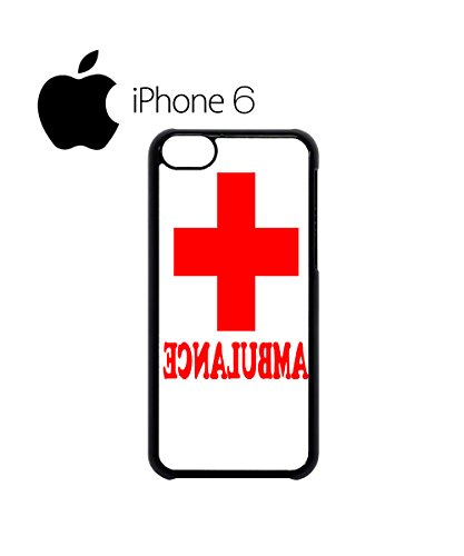 Ambulance Funny Red Cross Swag Mobile Phone Case Back Cover Hülle Weiß Schwarz for iPhone 6 White Schwarz