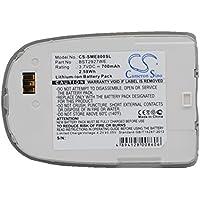 Replacement battery for SGH-E800, SGH-E808, SGH-E820, SGH-E820T