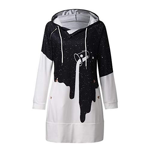 Wtouhe Jacke Damen wasserdicht Plus Size Sweatjacke mit Teddyfutter Warm Weihnachtsjacke schwarz weiße bluse jogginganzug strickkapuzenjacke strickpullover