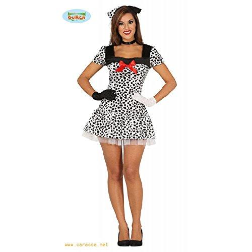 Imagen de disfraz de vestido perrito dálmata para mujer